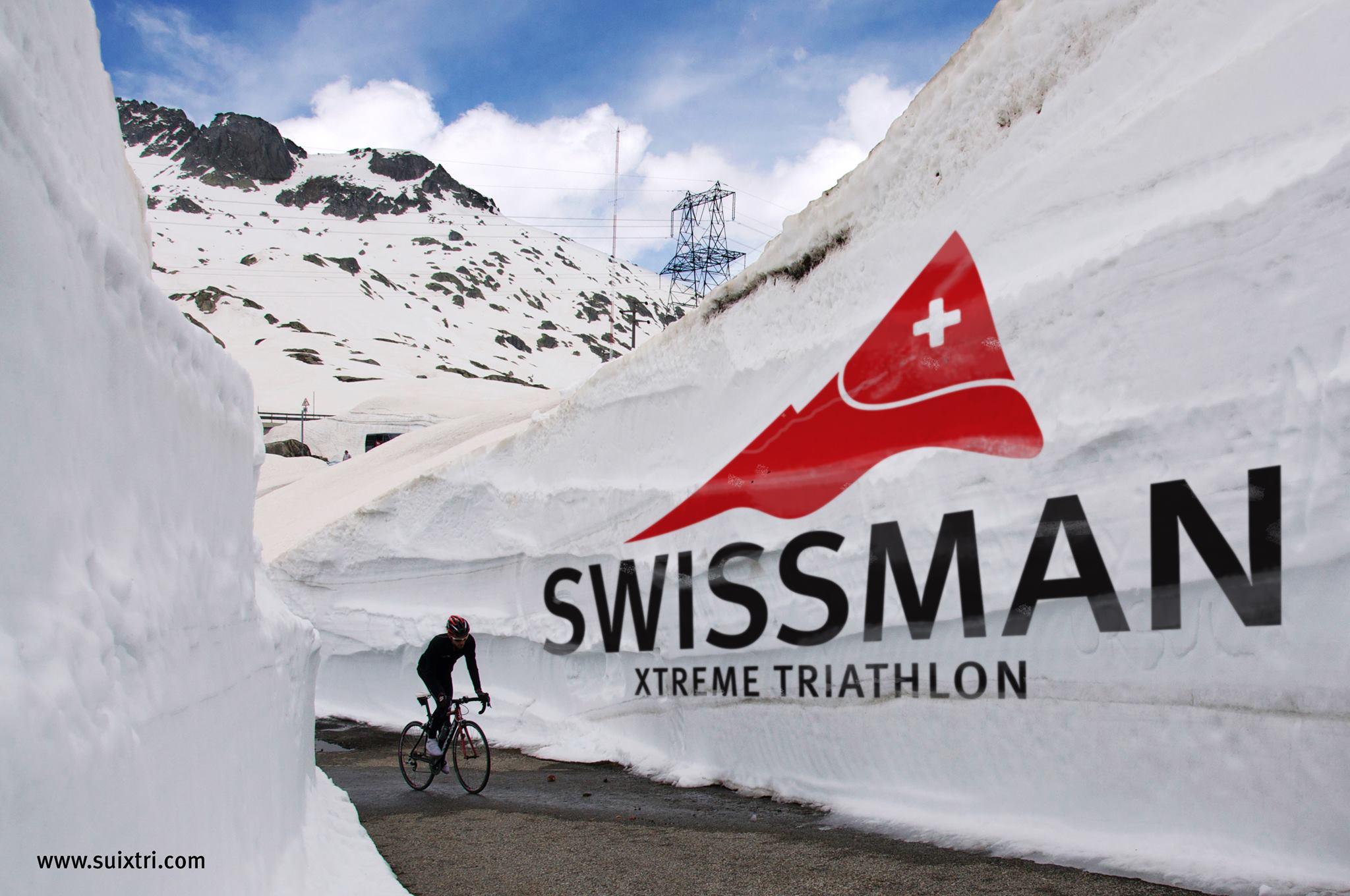 Seriös träning inför Swissman!
